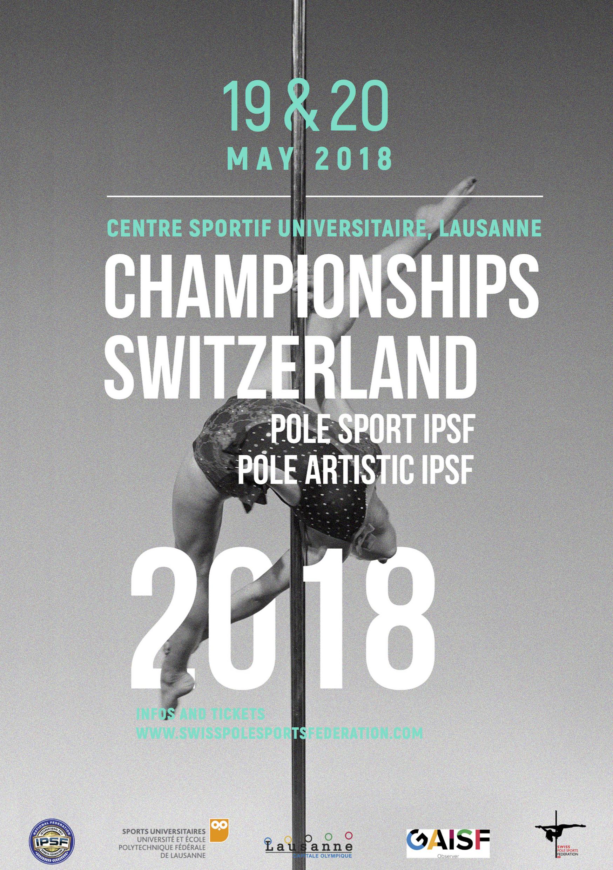 Swiss Pole Sport, Pole Artistic, Parapole & Open IPSF Championships 2018