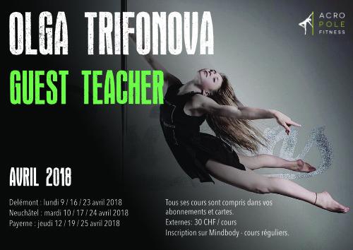 Olga Trifonova - Guest Teacher @Acropole Fitness