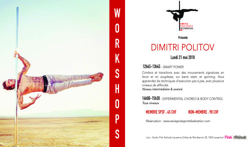 Workshops Dimitri Politov