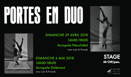 "Stage ""Portés en Duo"""